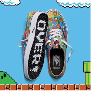 Vans Mario Brothers Shoes